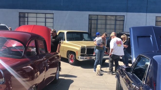 Barstow's NAPA Auto Parts will host a car and motorcycle show Saturday, May 22, 2021, to benefit the Intrepid Fallen Hero Fund. Pictured are a few examples of the types of cars that will be displayed by various car clubs.
