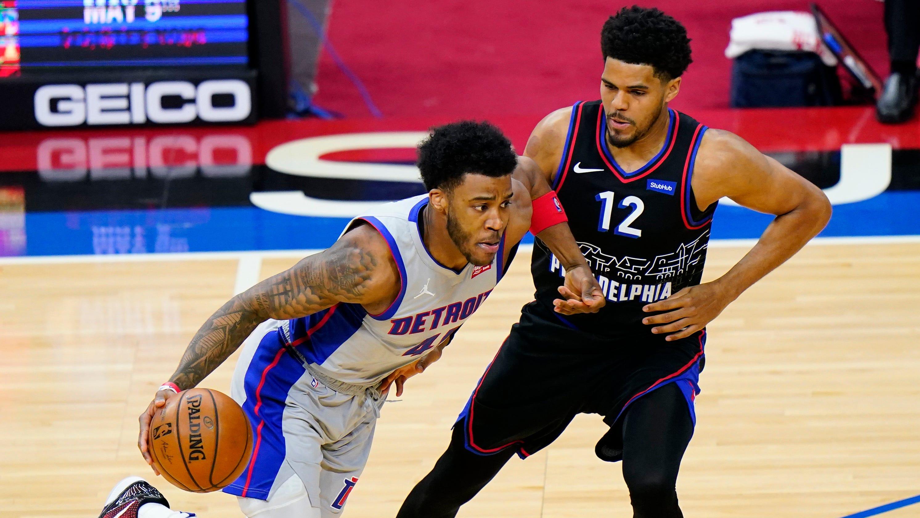 Jerami Grant and Mason Plumlee return, but Detroit Pistons fall to Philadelphia 76ers, 118-104