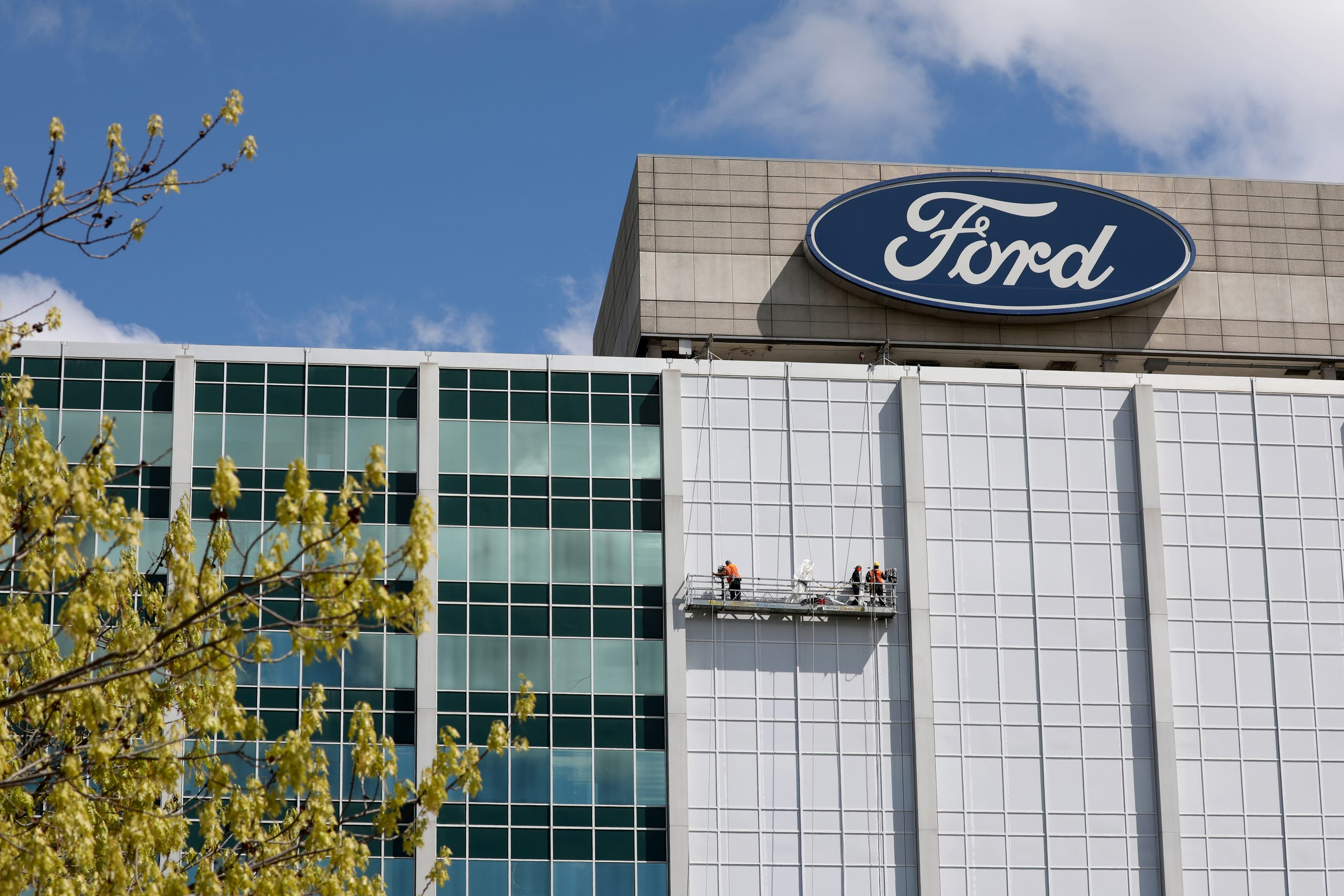 Ford World Headquarters In Dearborn