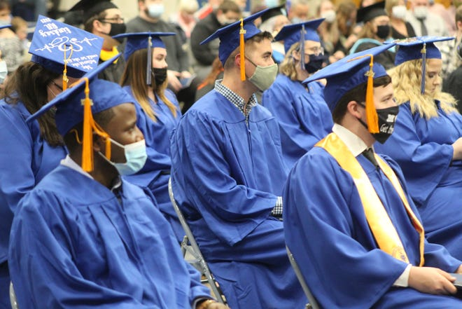 Terra State Community College celebrated commencement Friday for its 51st and 52nd graduating classes. The college held three separate ceremonies for its graduates inside Terra State's Student Activities Center.