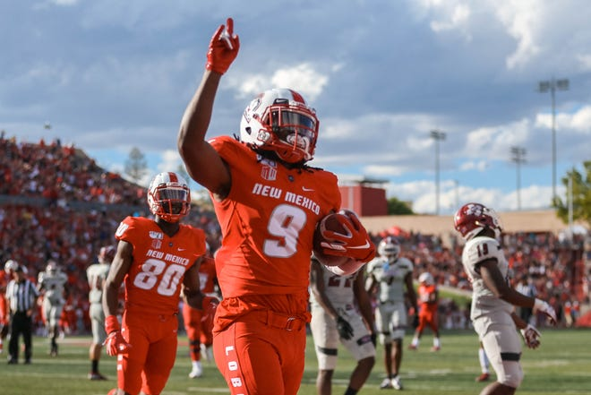 Jordan Kress, one of New Mexico's leading receivers the past two seasons, is transferring to Colorado State for his final season of college football, he said Friday on Twitter.