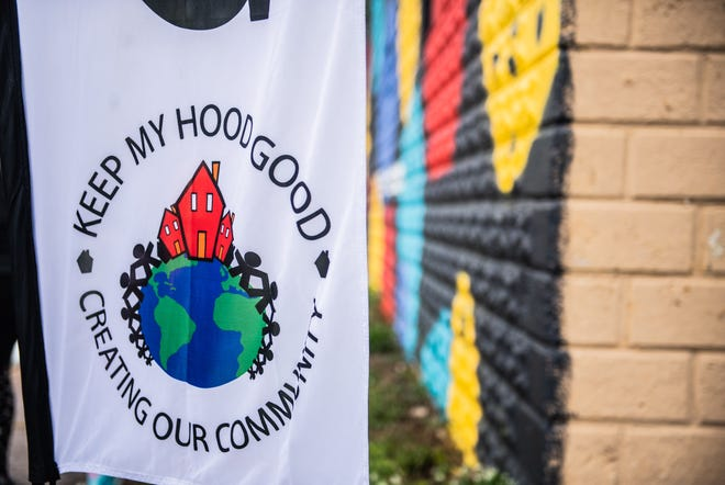 Keep My Hood Good came together on Saturday, May 8, 2021 for the unveiling of the mural in Jackson, Tenn.