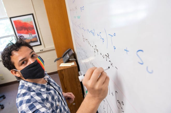 Wladimir Lyra, assistant professor of astronomy at New Mexico State University, received a three-year grant from The National Science Foundation and NASA to collaborate with other universities to pursue research on how planets form.
