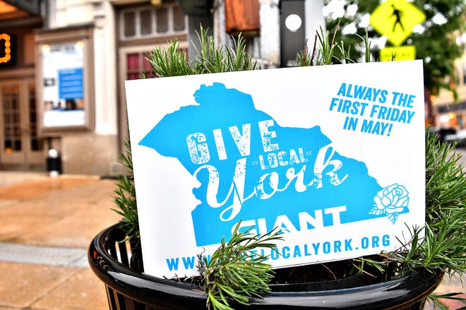 Give Local York on First Friday in downtown York City, Friday, May 7, 2021. Dawn J. Sagert photo
