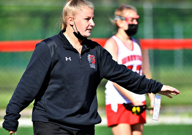Susquehannock girls' lacrosse head coach Kristen Kunaniec has led her team to an unbeaten York-Adams League record in 2021.