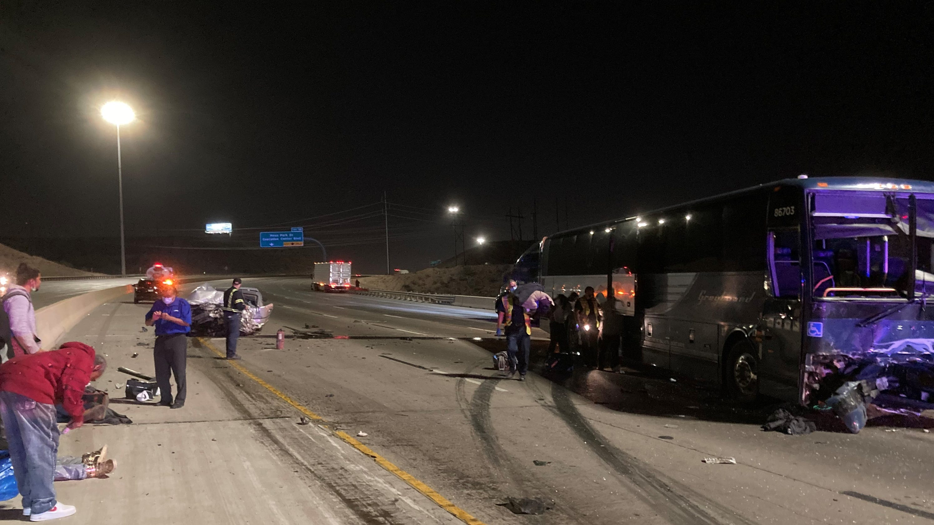 El Paso police ID wrong-way driver killed in Greyhound bus collision on freeway over weekend