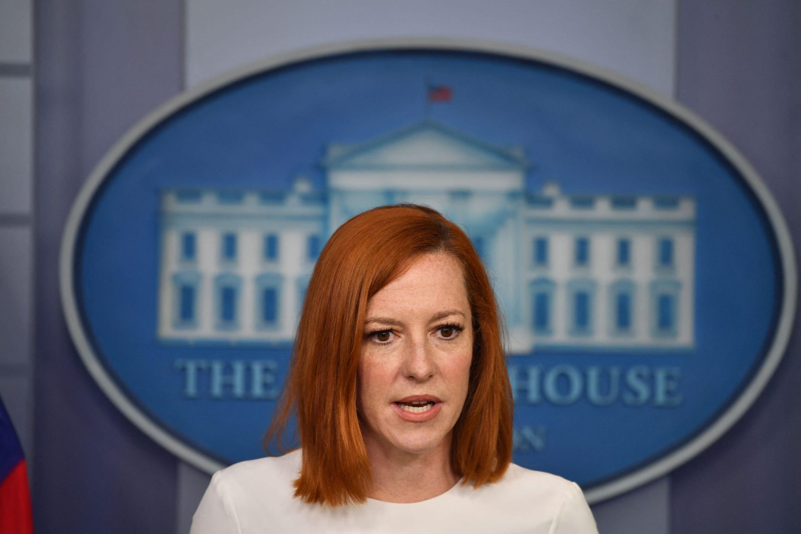 Jen Psaki, Biden's White House press secretary