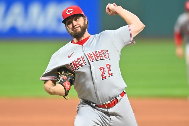 Reds starting pitcher Wade Miley threw Cincinnati's first no-hitter since Homer Bailey in 2013.