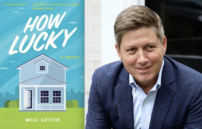 """Athens author Will Leitch's book """"HOW LUCKY"""" will be released on May 11."""