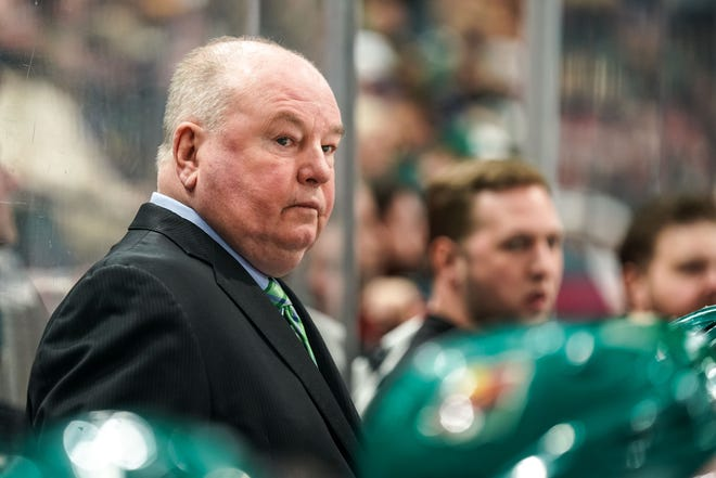 Veteran Bruce Boudreau has the kind of NHL postseason success the Blue Jackets are seeking in a new coach; his teams qualified for the playoffs 10 times in 14 seasons with Washington, Anaheim and Minnesota.