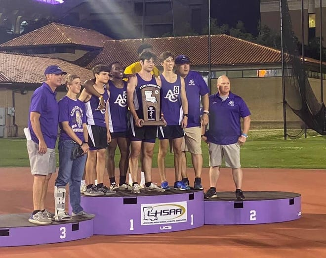 The Ascension Catholic boy's track team finished as the Class 1A state runner-up.