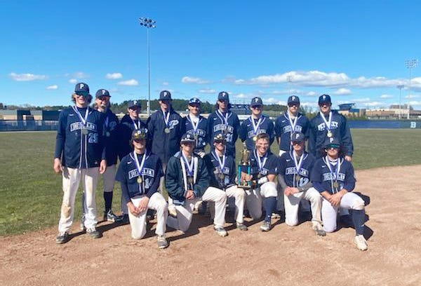 Petoskey baseball went 2-0 on the day and earned themselves another Carol Hansen Memorial trophy at Turcott Field.