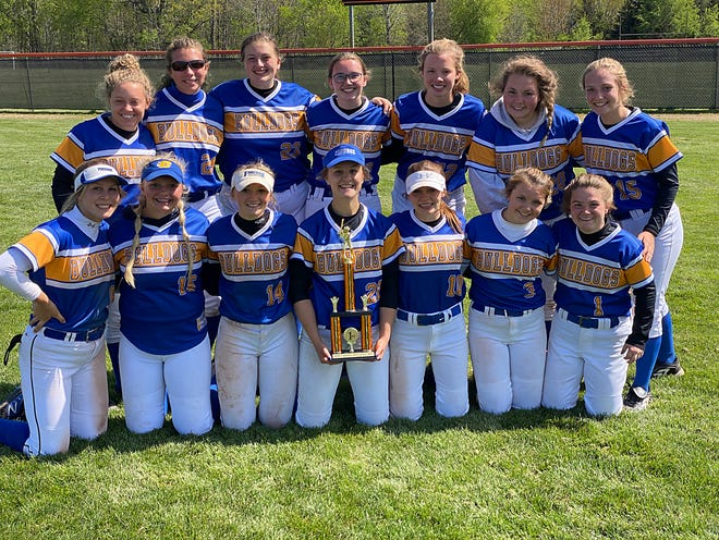 The Centreville softball team took first place on Saturday at the invitational held in Quincy.