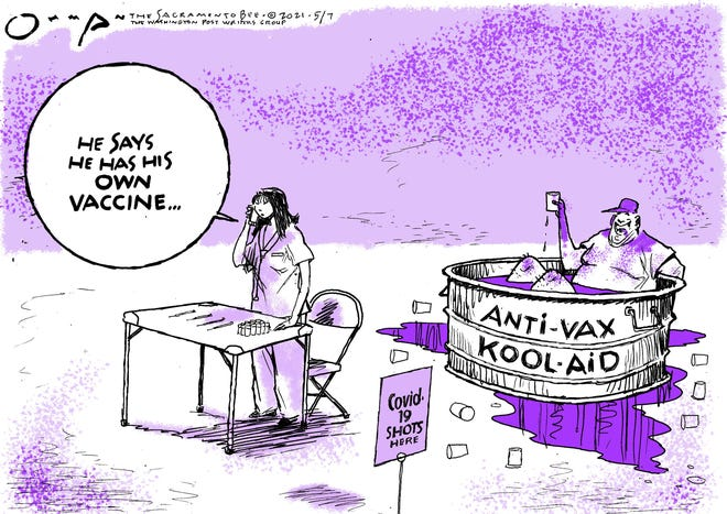 More vaccines than people willing to get them