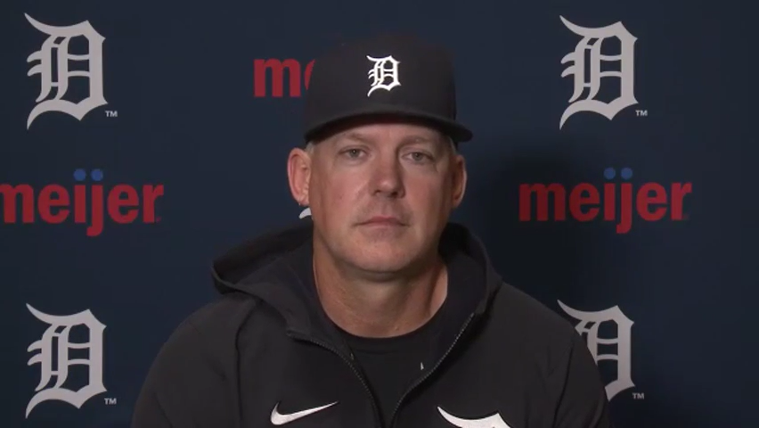 What Detroit Tigers manager AJ Hinch said after 7-3 win over Minnesota Twins