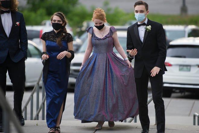 Scenes from Oak Ridge High School's prom, Saturday, May 8, 2021.