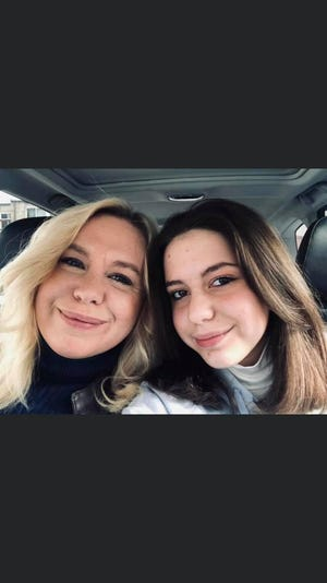 Grace Greco (right) and her mom, LSJ community journalist Rachel Greco