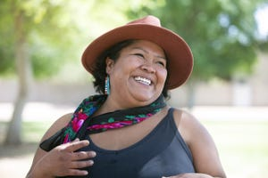 Dimitra McCabe is executive director of Rez Refuge, a nonprofit focusing on the community in the Navajo Nation.