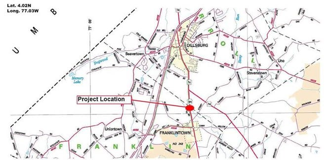 The project will replace the 80-year-old bridgewith a precast reinforced concrete box culvert, according to a PennDOT news release.