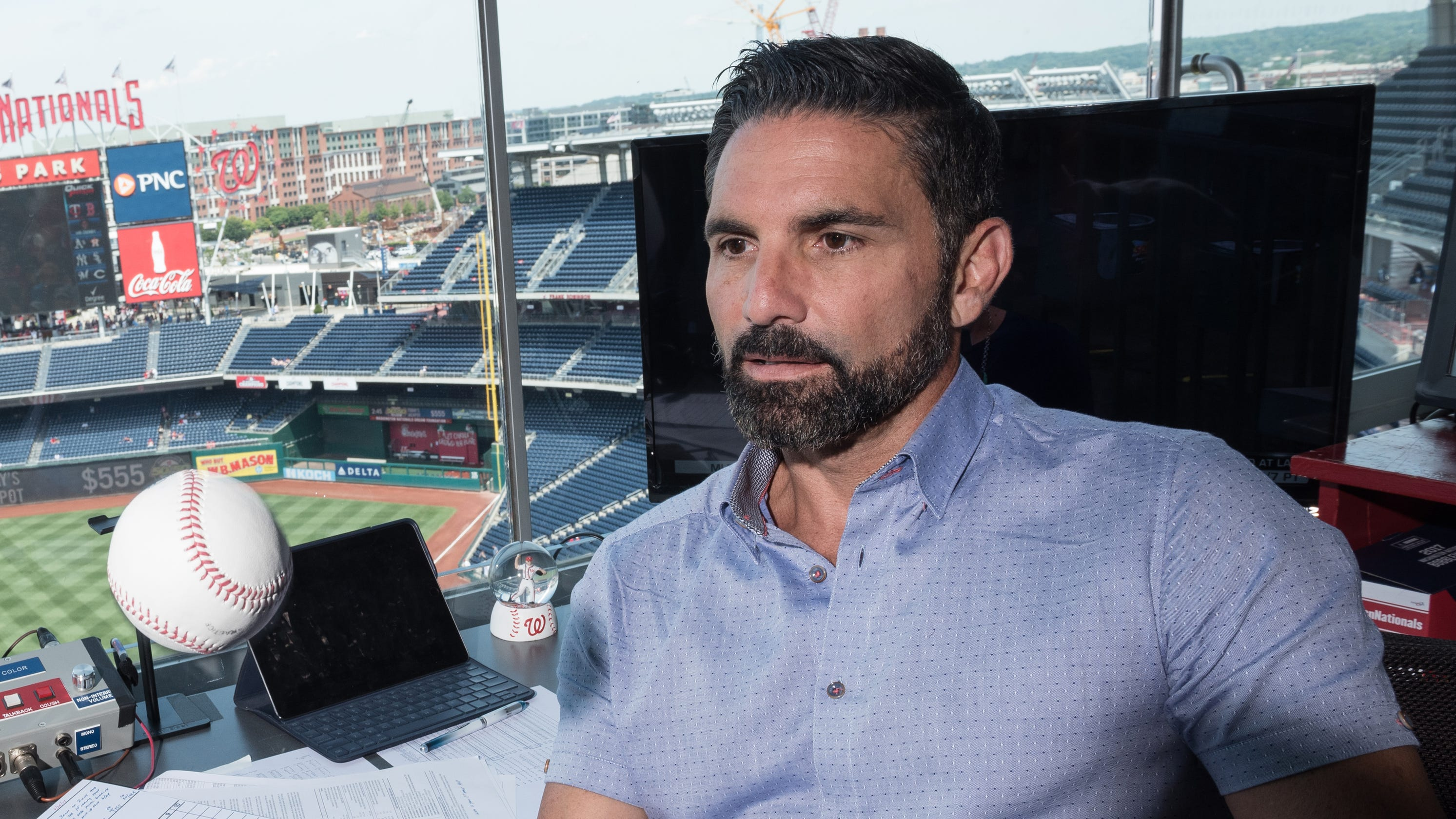Washington Nationals TV broadcaster F.P. Santangelo accused of sexual assault