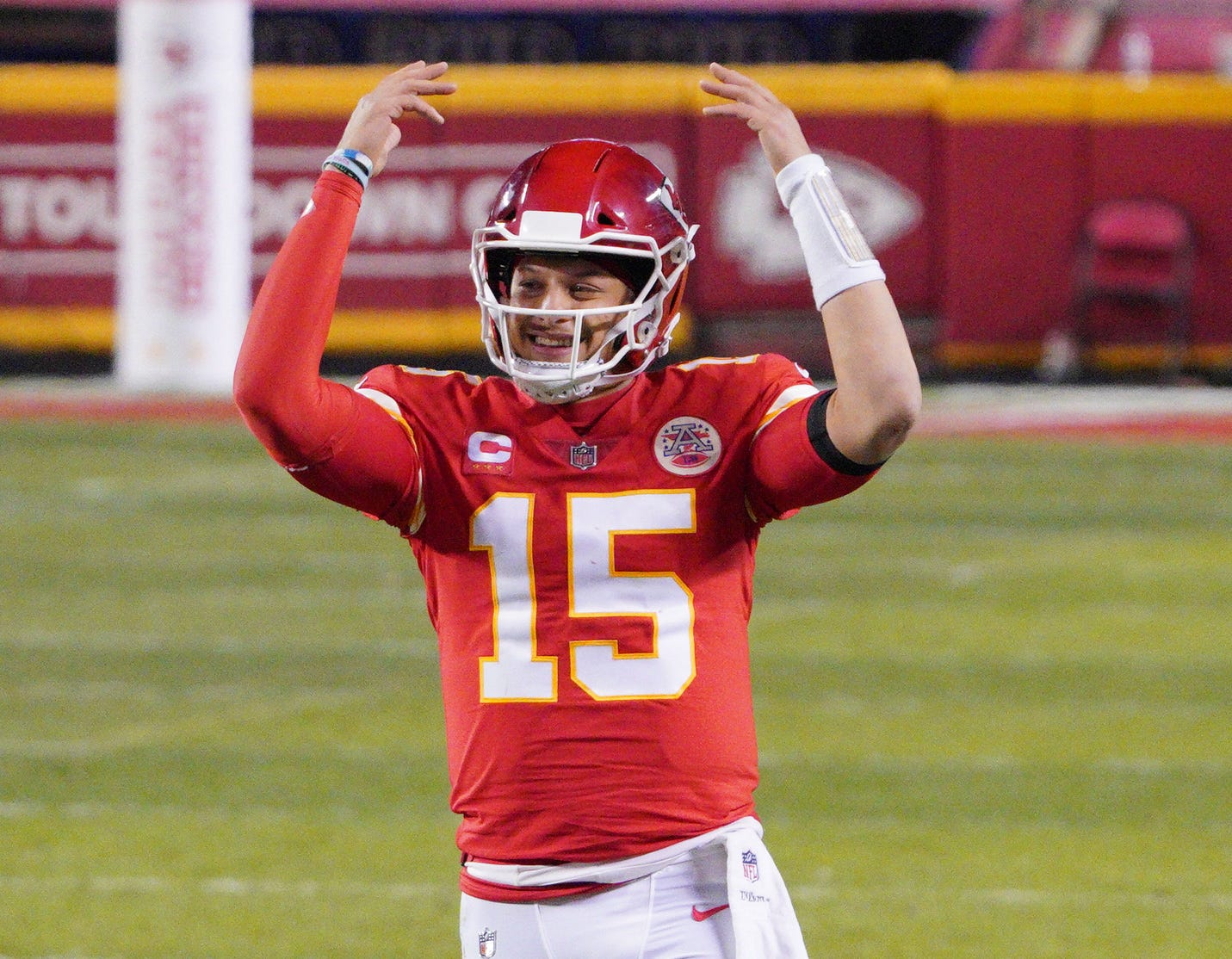 Sights set on perfection: Chiefs QB Patrick Mahomes says 20-0 'only record' he's chasing
