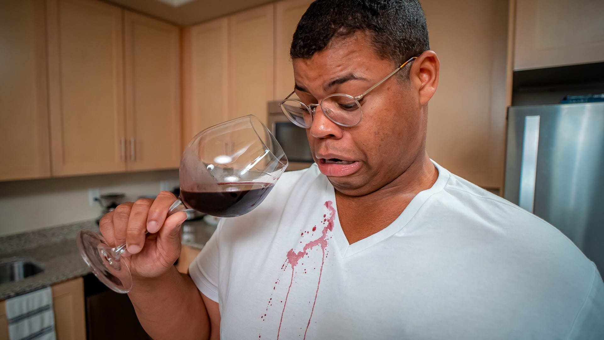 How to remove stubborn red wine stains