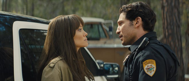 """Angelina Jolies and Jon Bernthal star in the thriller """"Those Who Wish Me Dead."""""""