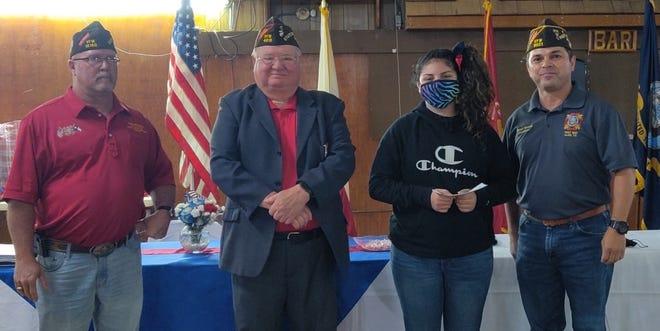 Mallori Rubio, student at Dubose Intermediate, wins VFW Post 8621 Patriot's Pen contest.
