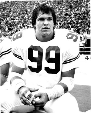Defensive lineman Steve McMichael played at Texas and was a consensus first-team All-American his senior season.