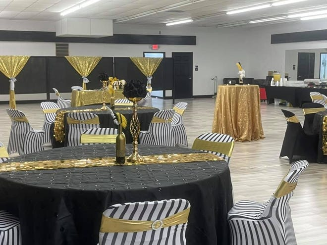 The Stanley Arts Center was decorated in finery for the WHHS Prom.