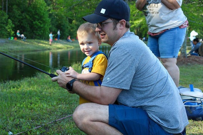 A fishing rodeo was held in Hardeeville on May 1 as many families enjoyed the event.