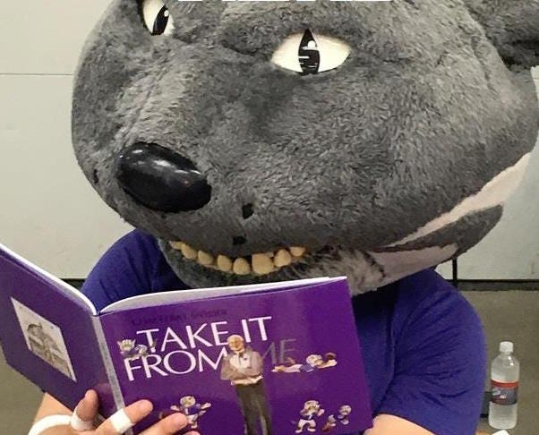 """Kraken Books, a publishing company located in El Dorado, is hosting a funding drive in an attempt to give """"Take It From Me,"""" a book written with the help of former Kansas State Football Coach Bill Snyder, to every elementary school student in El Dorado and Towanda."""