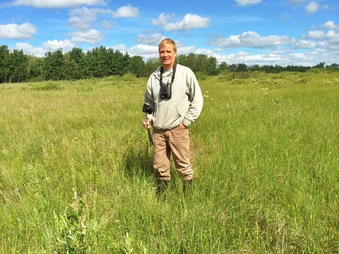 Steve Baker is the featured presenter at this month's Straits Area Audubon Society meeting online, via Zoom. Baker will give a presentation regarding the different species of wild orchids found around Northern Michigan.