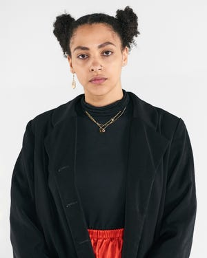 CCAD Fashion Design senior Angela Jernigan.
