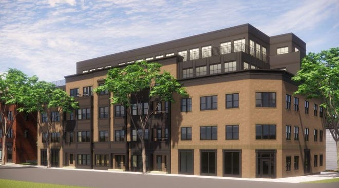Roby Development is proposing a 50-unit apartment building at 1020 N. Fourth St. in Italian Village.