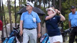 """HIT IT HARD"" | Amy Bockerstette sticks to golf's basics"