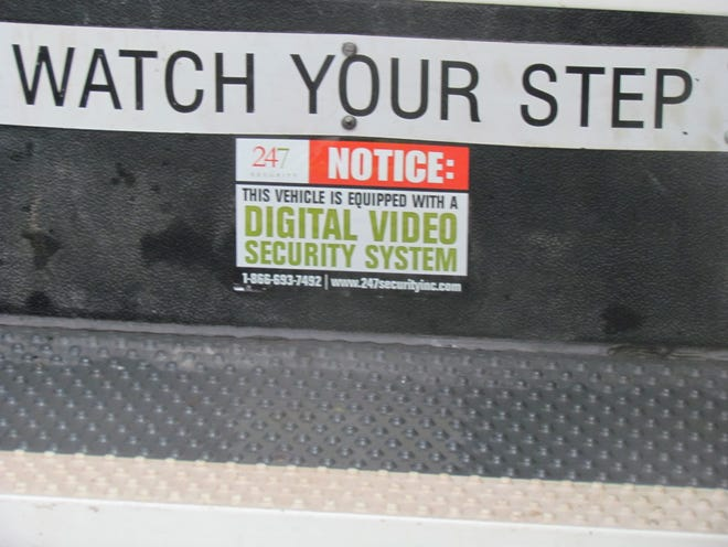Surveillance cameras are active on all WHSD's school busses. Their goal is to keep students safe, say district representatives.