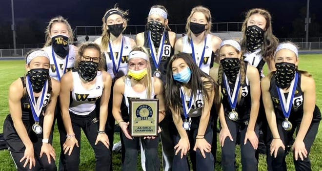 Western Wayne's girls varsity track & field team won its fourth consecutive championship at the 65th Annual Jordan Relays. This year's edition of the event was held Thursday at Pittston Area. The Lady 'Cats piled up 40 points to finish all alone atop the Class AA standings.