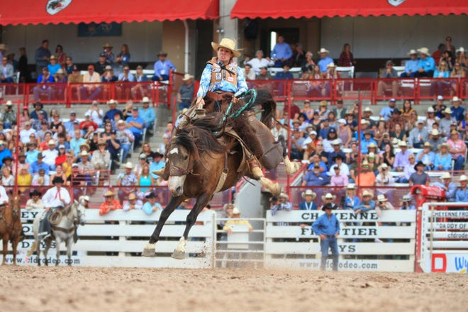 For the first time in decades, cowgirls riding broncs will bust out of the chutes at the Black Hills Roundup in Belle Fourche. Women's ranch bronc riding will be part of the rodeo on July 2-3.