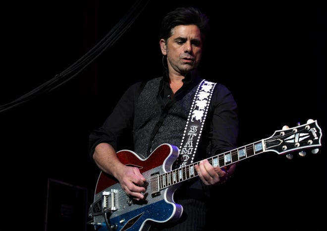 Actor John Stamos is expected to join the Beach Boys onstage Friday at the St. Augustine Amphitheatre.