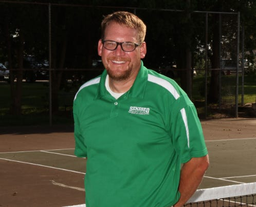 Kevin Reed Sets Record as Tennis Coach at GHS.