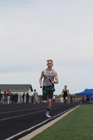 third photo (4160) is Justin Johnson, who ran the third leg;