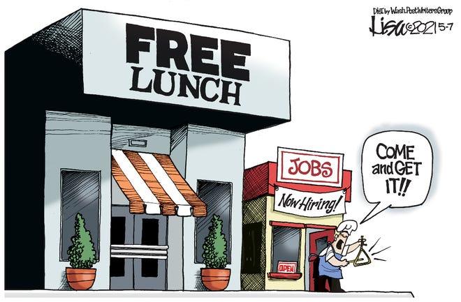 Today's editorial cartoon (May 11, 2021)