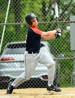 AMSA's Andrew Cash, pictured in 2019, helped his baseball team win a Division 3 Central title on Monday.