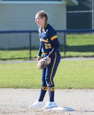 Gaylord's Jayden Jones came through with a near perfect game over the weekend when she no-hit Hemlock at Saginaw Heritage.