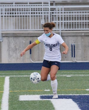 Gaylord's Mariah Krone came through with a pair of scores recently to help lead to a win over Cadillac.