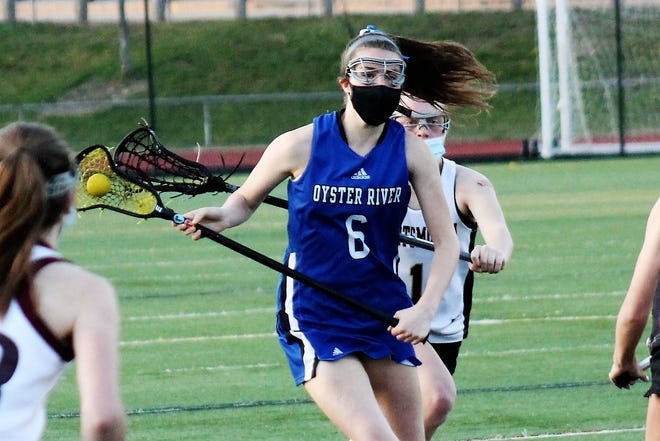 A sophomore on the Oyster River-Newmarket girls lacrosse co-op team, Madbury's Sophie Royal is a daughter of former UNH men's hockey standout Eric Royal.