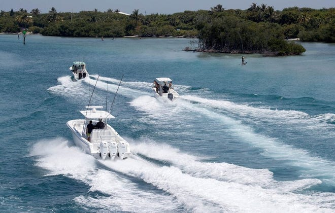 A slow-speed minimum wake zone is being proposed for weekends and holidays for an area north of Cato's Bridge near Jupiter Inlet Lighthouse.