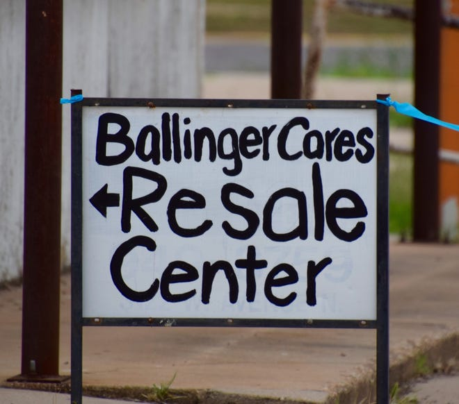 The resale shop, operated by the non-profit, Ballinger Cares, has opened in the old Runnels County Senior Citizen Center at 627 Strong Avenue.