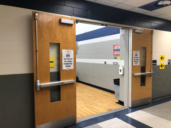 The Stark County Health Department ran a COVID-19 vaccine clinic Monday inside the gymnasium at Fairless Elementary School in Brewster for ages 16 and older. Health officials planned for 300 shots.